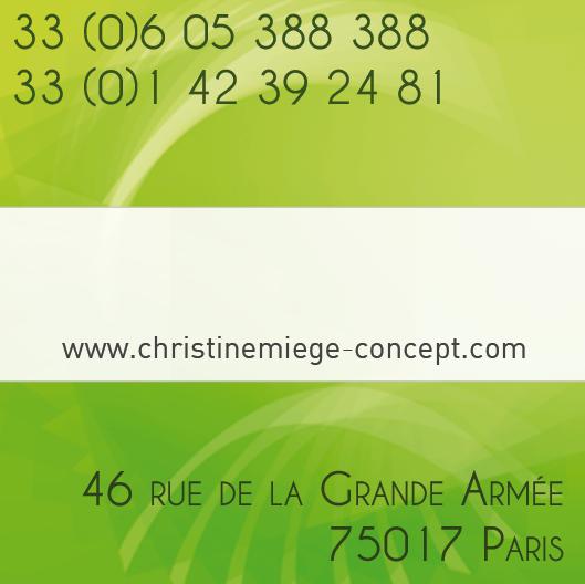 Carte de visite CMC dos