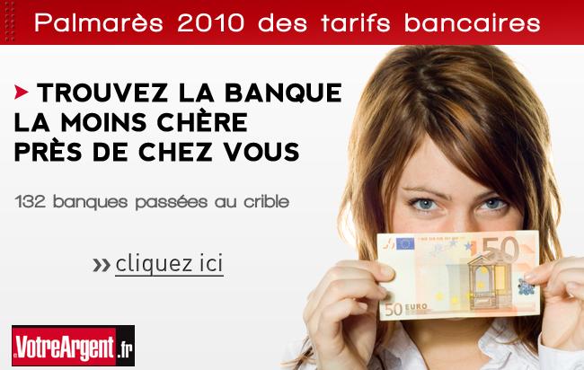 Emailing pour le palamrès des banques sur votreargent.fr