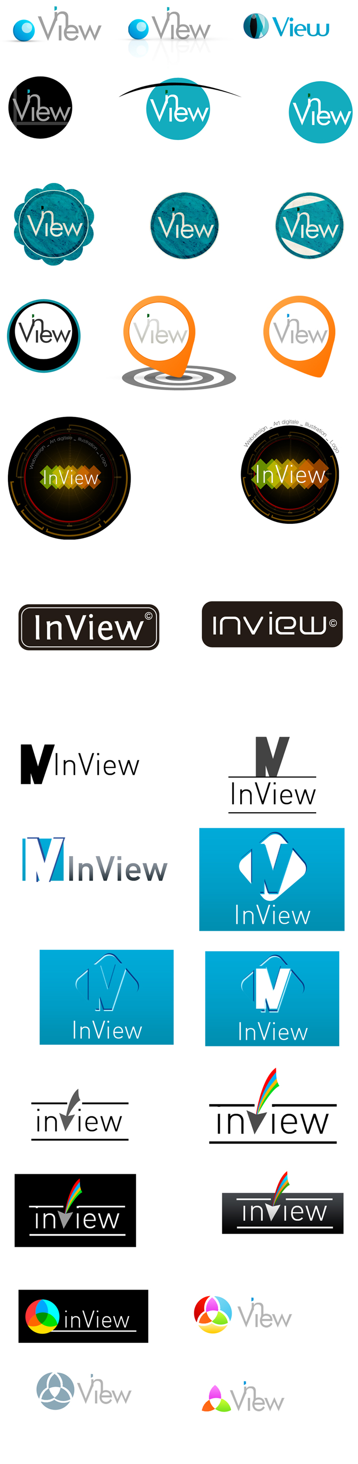 recherche logo inview