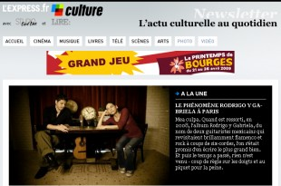 Newsletter pour lexpress Culture